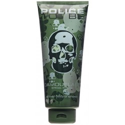 Police To Be Camouflage Man All Over Body Shampoo 400 ml