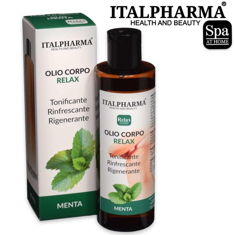 Italpharma olio corpo relax menta 200 ml