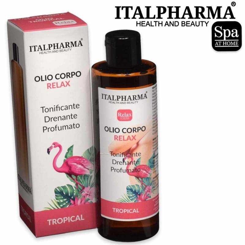 Italpharma olio corpo relax tropical 200 ml