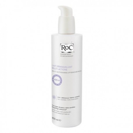 ROC LINEA STRUCCANTI LATTE DETERGENTE MULTI AZIONE 3 IN 1 400 ML