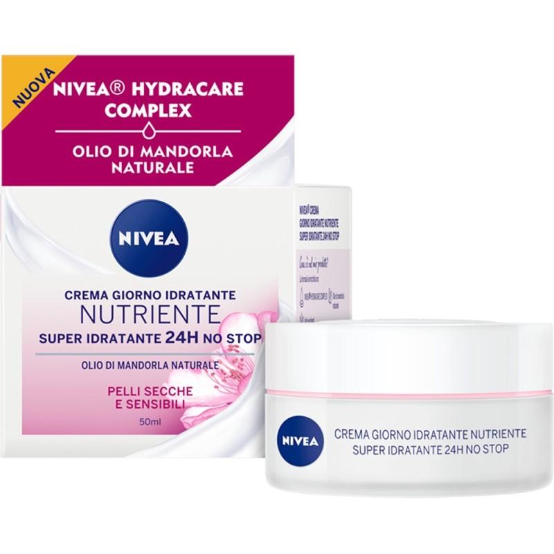 NIVEA Super Idratante 24h No Stop Crema Giorno Idratante Nutriente 50ml